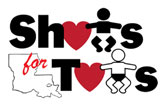 Shots For Tots Logo